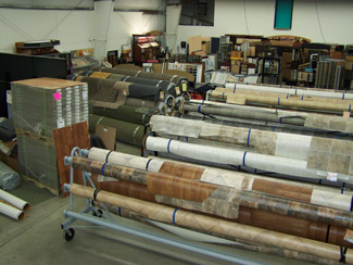 Fairway Floor Inc. has a great inventory of sheet vinyl for your home.